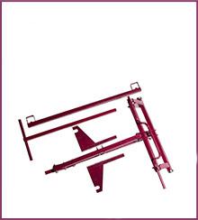 <strong>Naprava za dvigovanje dvojno krilnega gladilca</strong>